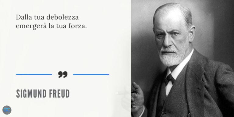 Freud citazione debolezza forza strategia di marketing online giovanni cardia