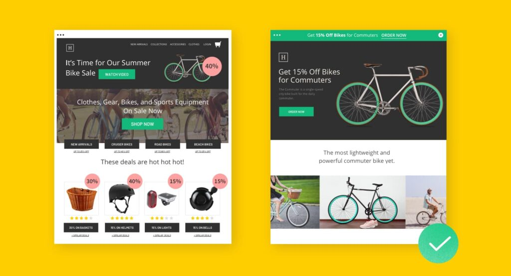 Differenza tra Home page e Landing Page