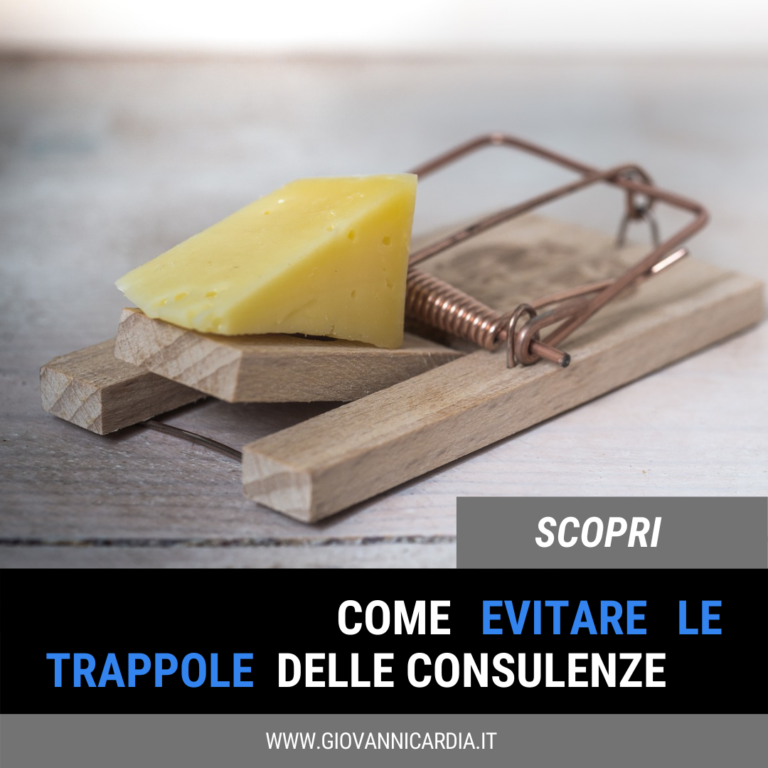 trappole consulenza di marketing online