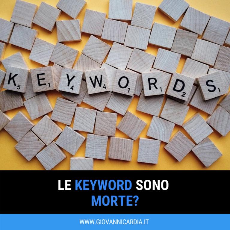 keyword seo importanza parole chiave